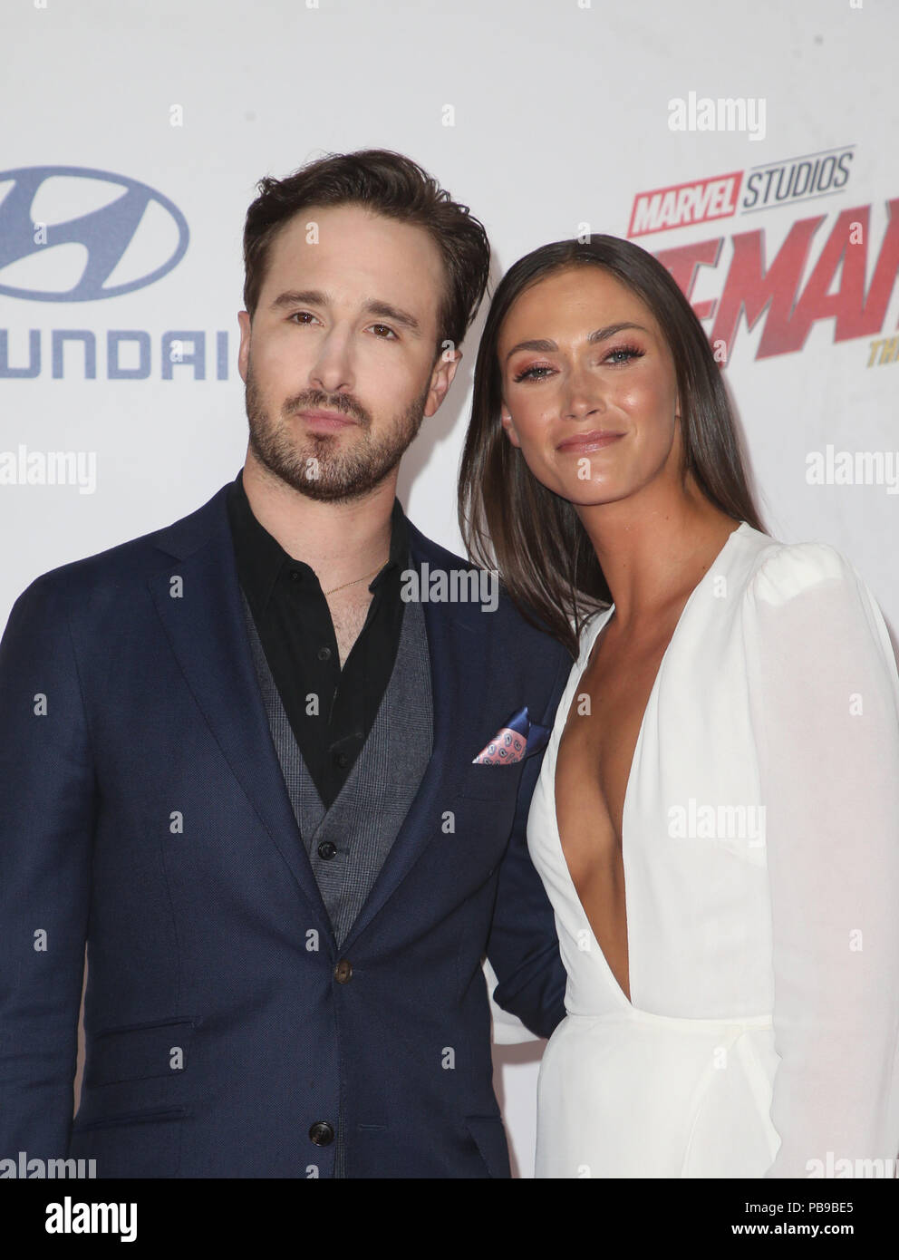 Premiere Of Disney And Marvel S Ant Man And The Wasp Featuring Gabriel Ferrari Christina Makowsky Where Hollywood California United States When 26 Jun 2018 Credit Fayesvision Wenn Com Stock Photo Alamy