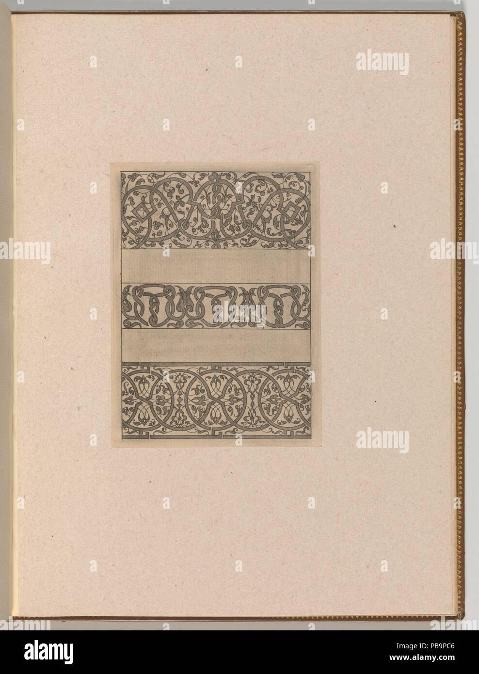 Copies After The Livre Contenant Passement De Moresques