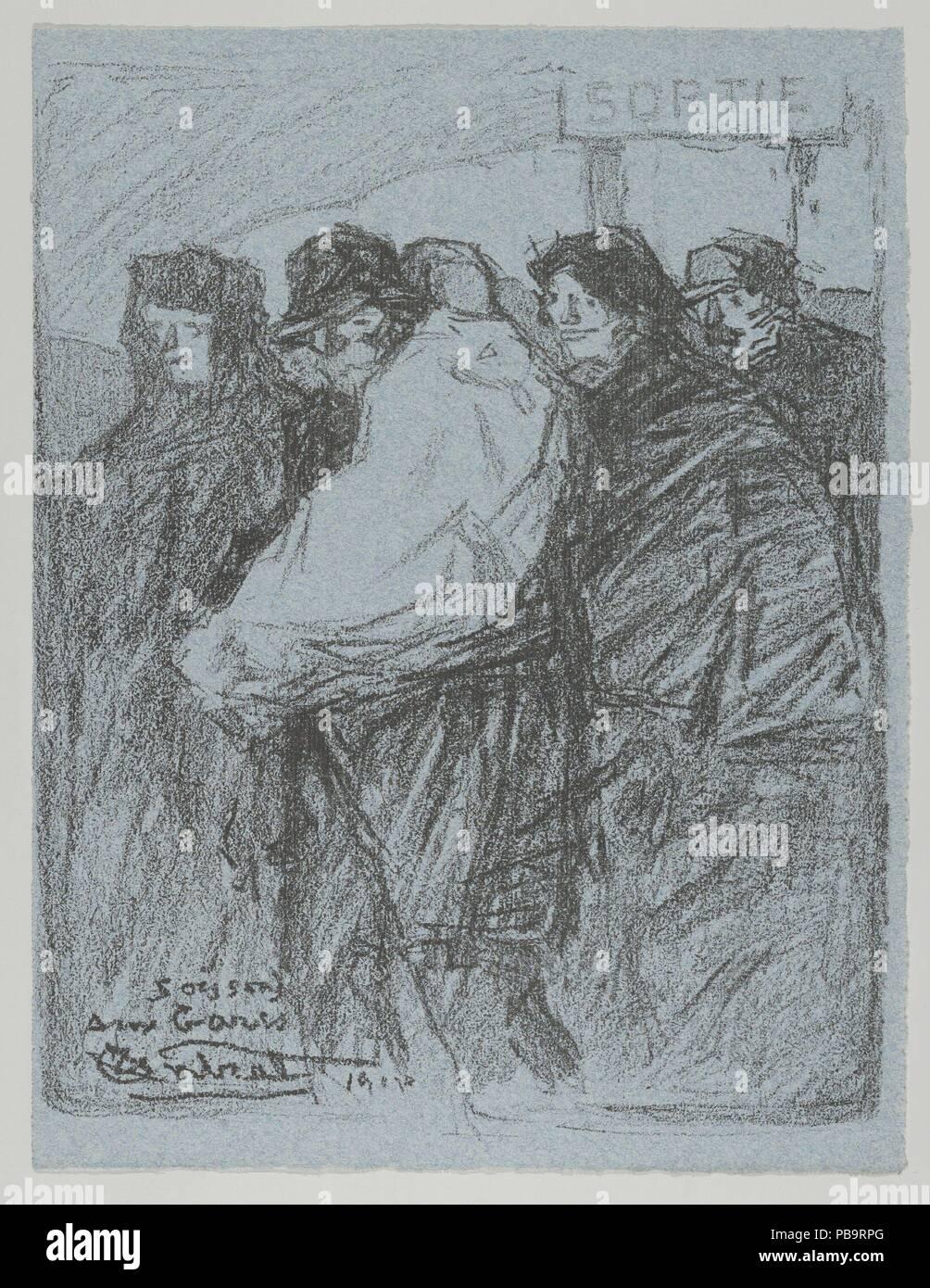 Soissons Aux Gares From Les Evacus Artist Louis Robert Antral