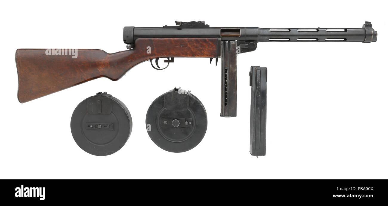 Submachine gun Suomi