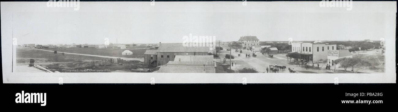 1166 Panoramic view of Aransas Pass, Texas LCCN2007661637 - Stock Image