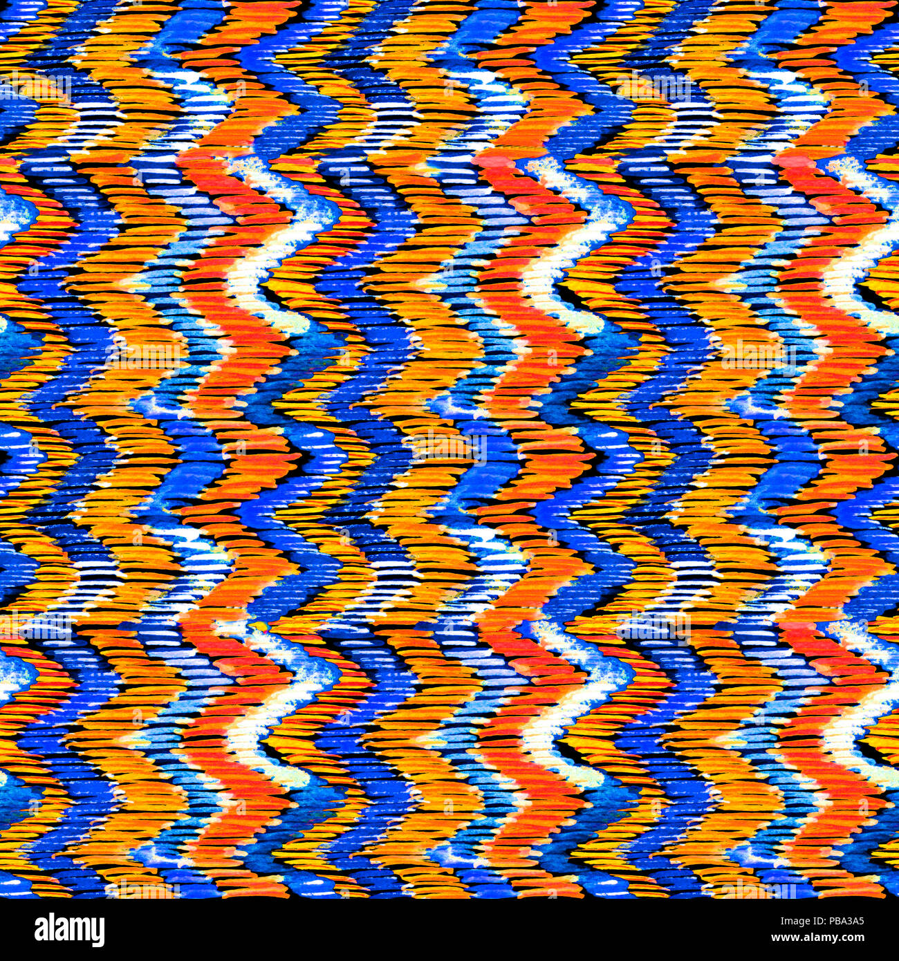 orange blue chevron pattern stock photos orange blue chevron pattern stock images alamy. Black Bedroom Furniture Sets. Home Design Ideas