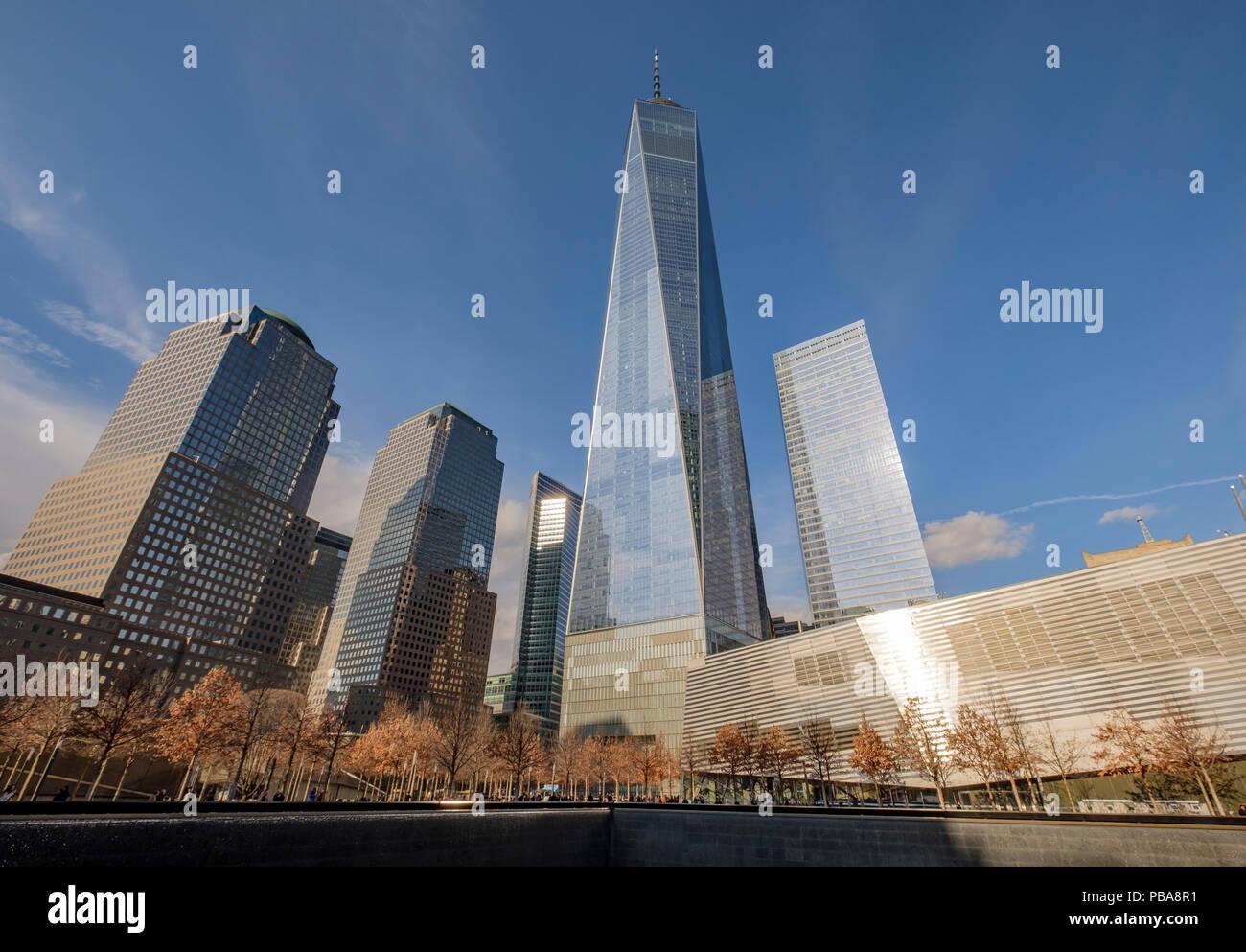 One World Trade Center, building, New York, building, Feb 11, 2017. (CTK Photo/Vladimir Houdek) - Stock Image