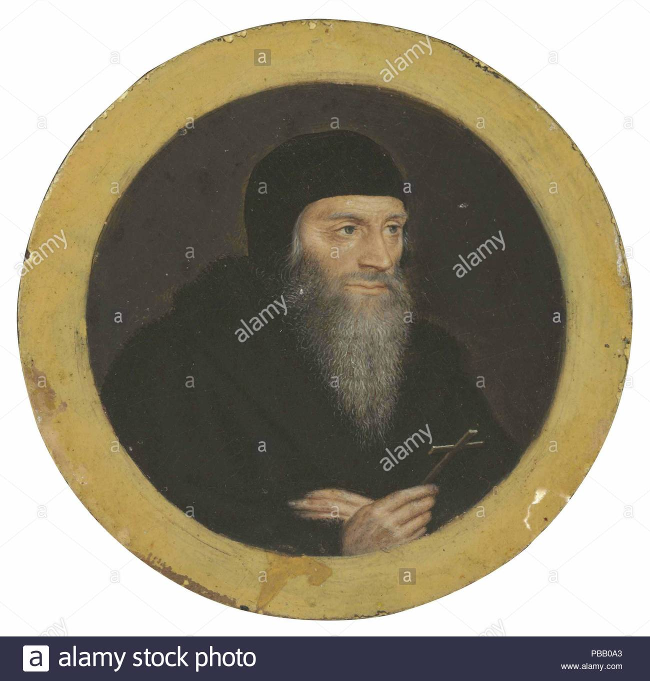 Portrait of Sir Thomas More as he was led to execution. Museum: PRIVATE COLLECTION. - Stock Image