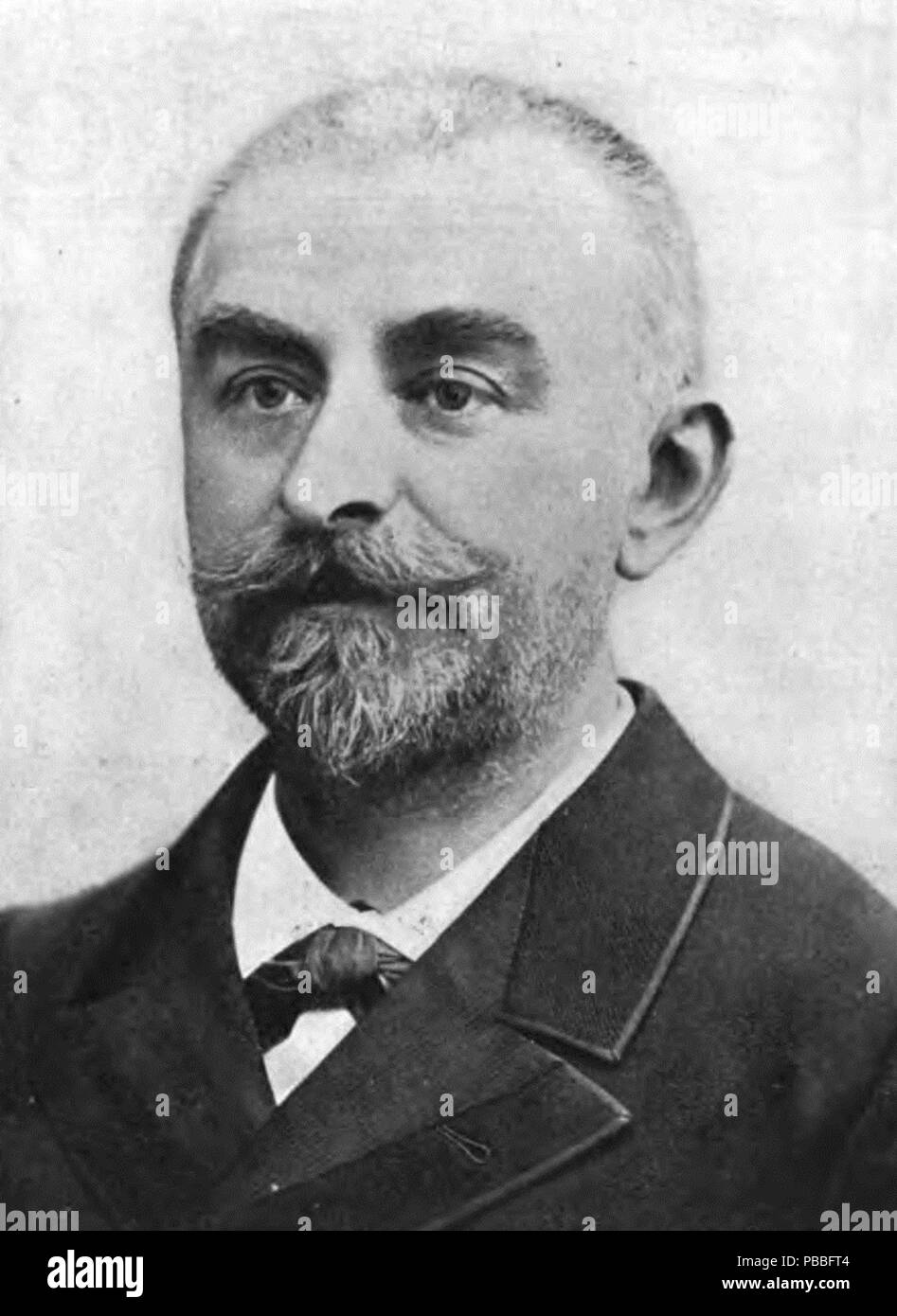 1189 Photograph of Joris-Karl Huysmans Stock Photo