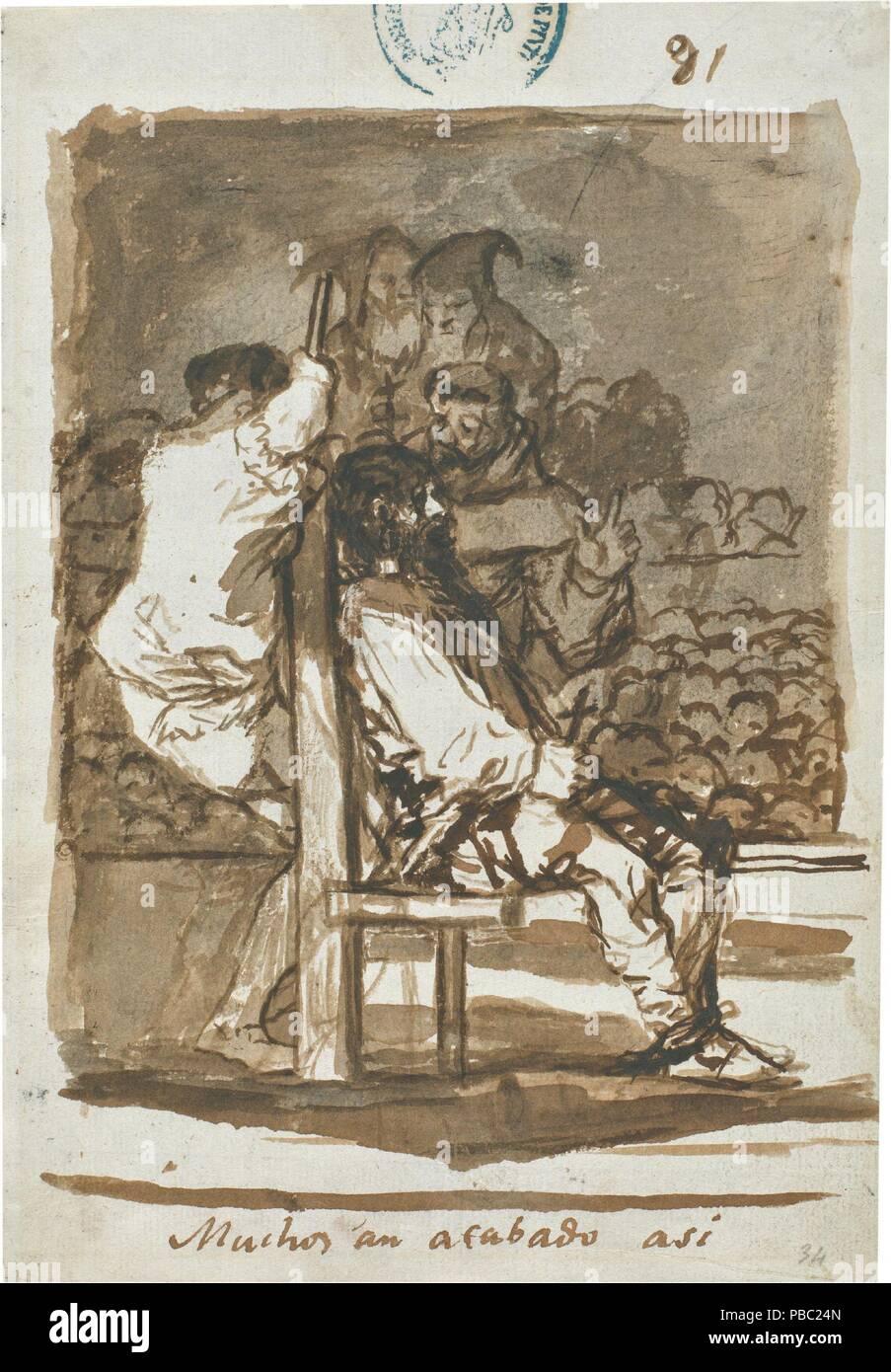 Francisco de Goya y Lucientes / 'Many have ended up like