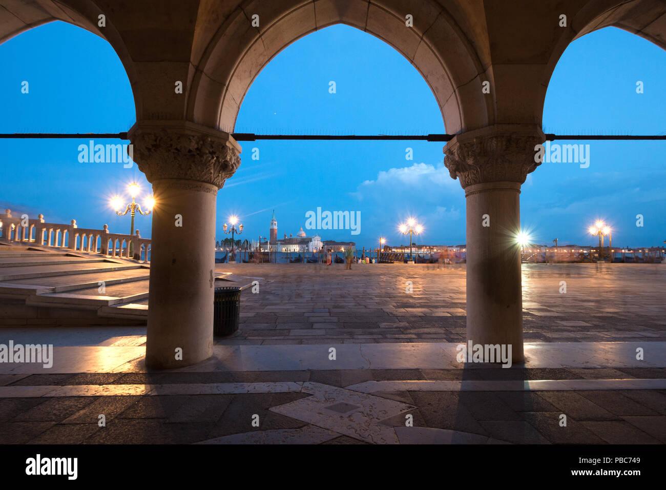 Riva degli Shiavoni, San Marco, Venice, Italy - Stock Image