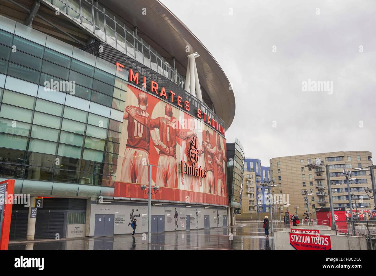 Emirates Stadium, London: address, photo, capacity 74