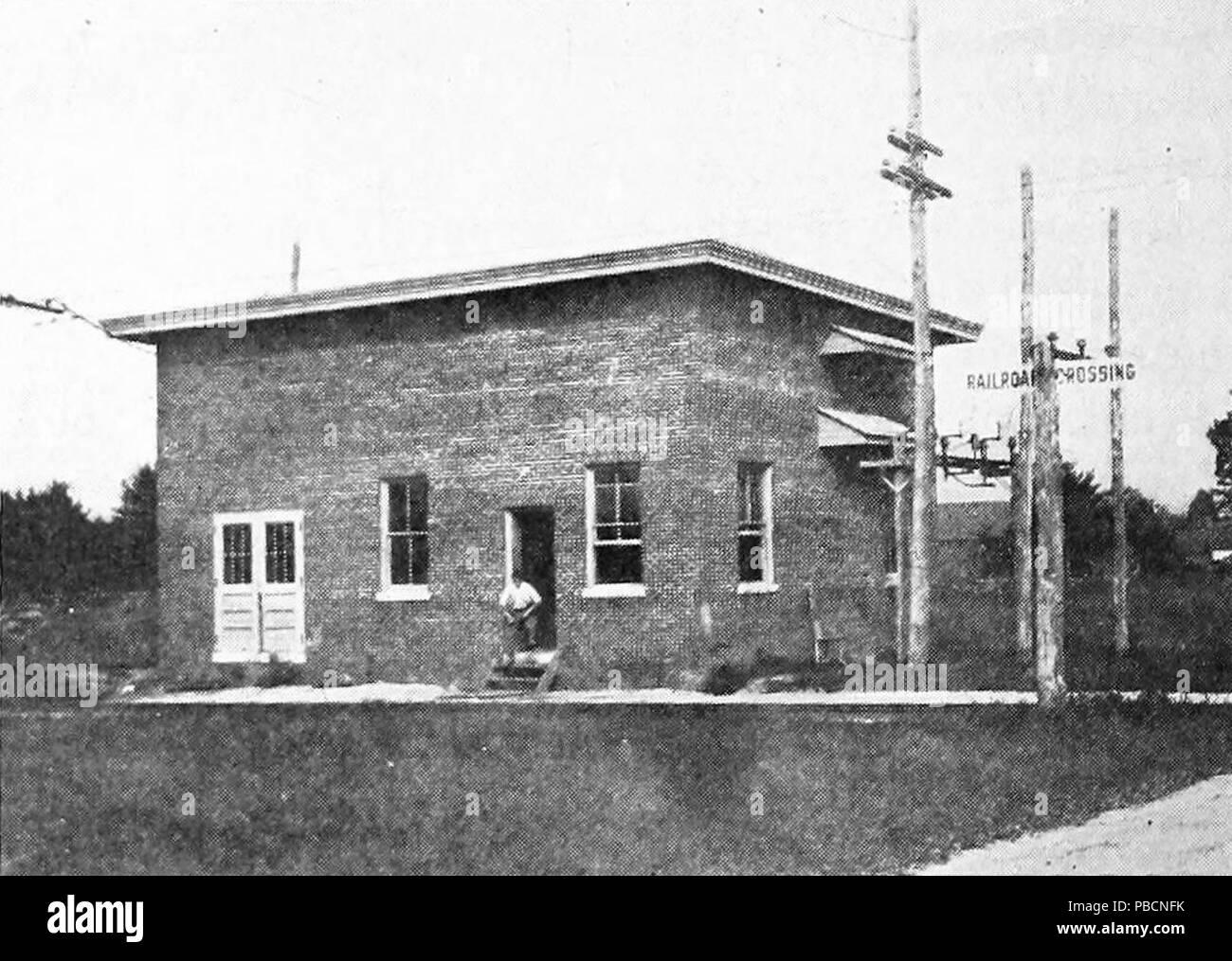 1214 Portland–Lewiston Interurban Danville substation, 1915