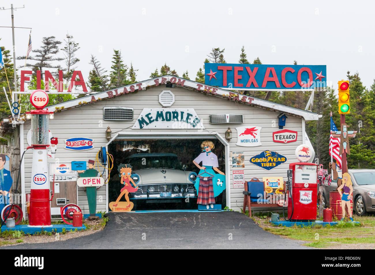 1960s Petrol Garage Stock Photos Amp 1960s Petrol Garage
