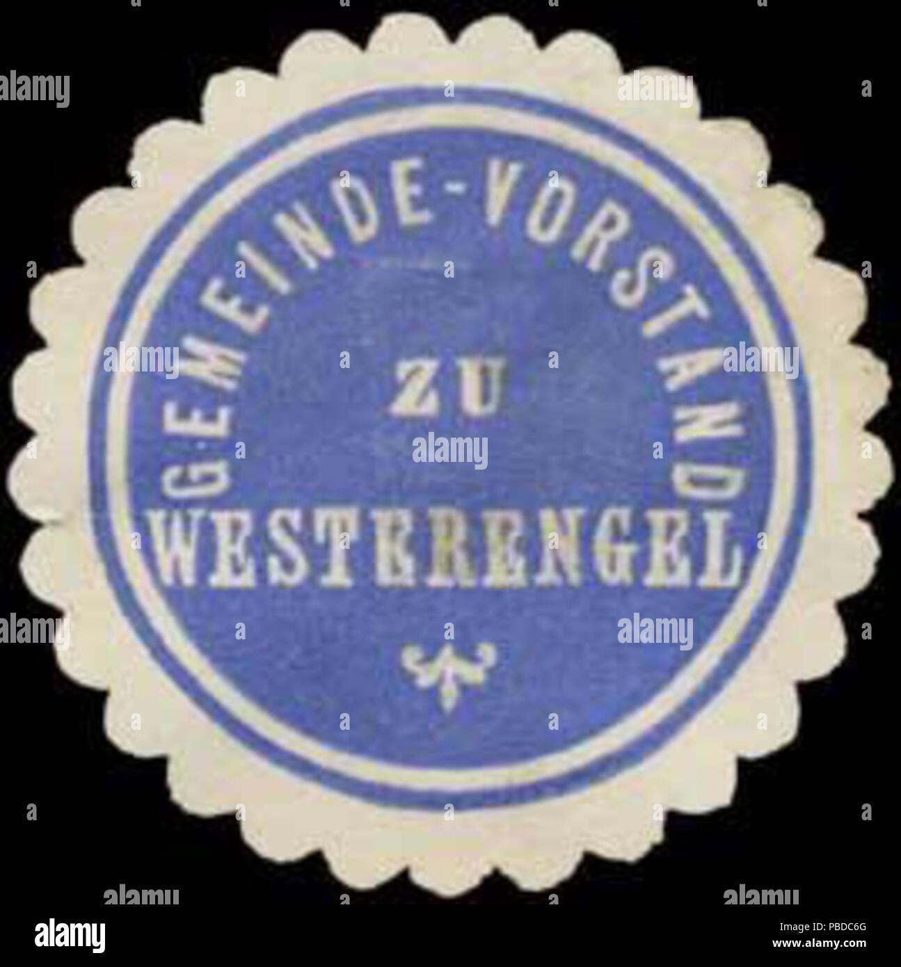 1384 Siegelmarke Gemeinde-Vorstand zu Westerengel W0385309