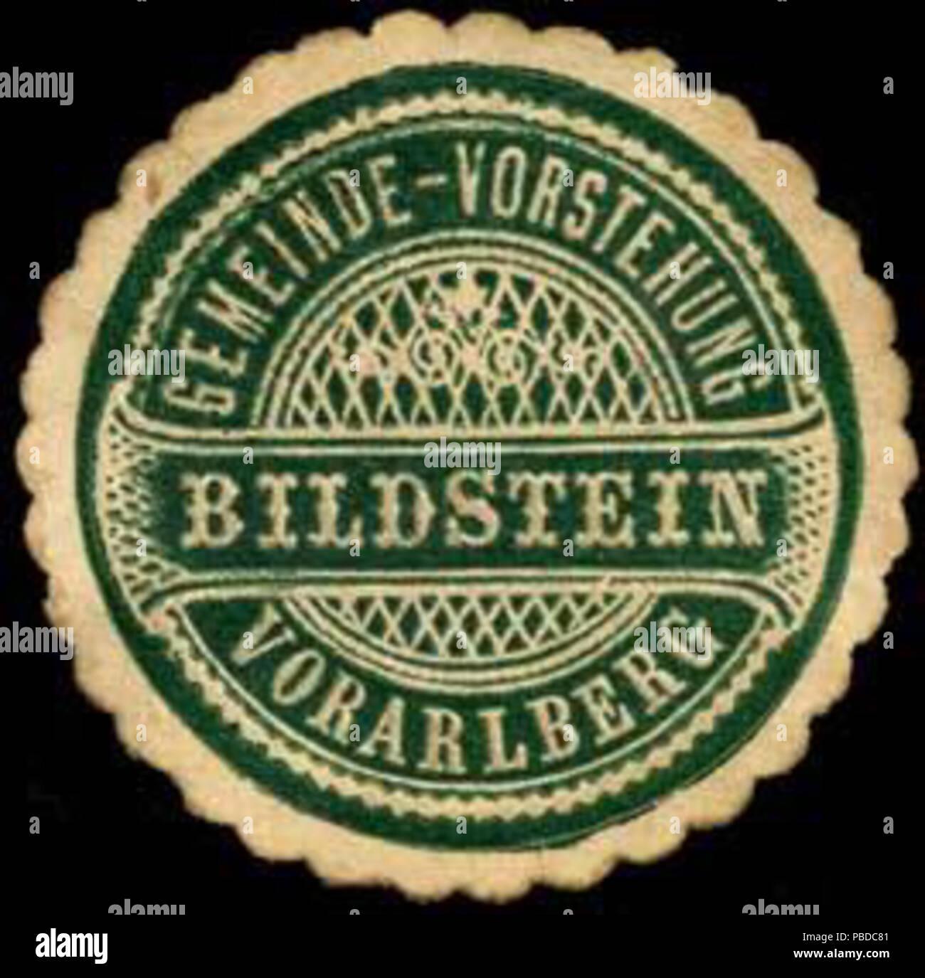 1384 Siegelmarke Gemeinde-Vorstehung Bildstein - Vorarlberg W0261308