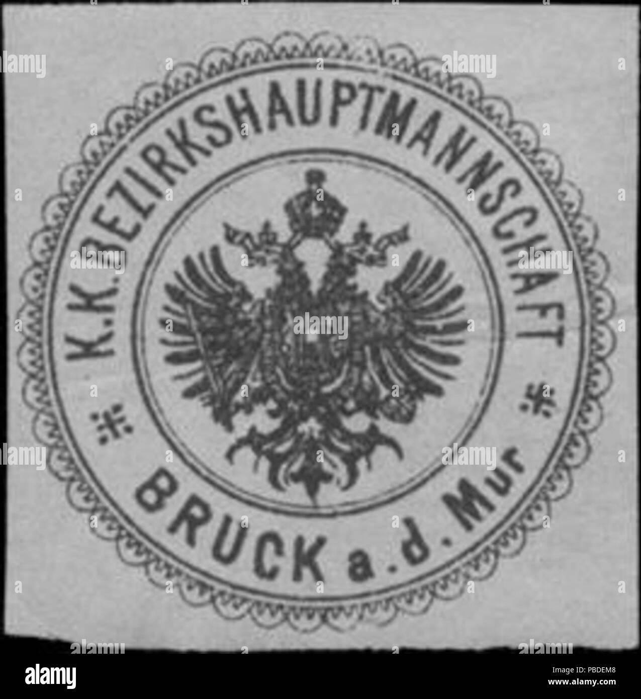 1419 Siegelmarke K.K. Bezirkshauptmannschaft Bruck a.d. Mur W0358483
