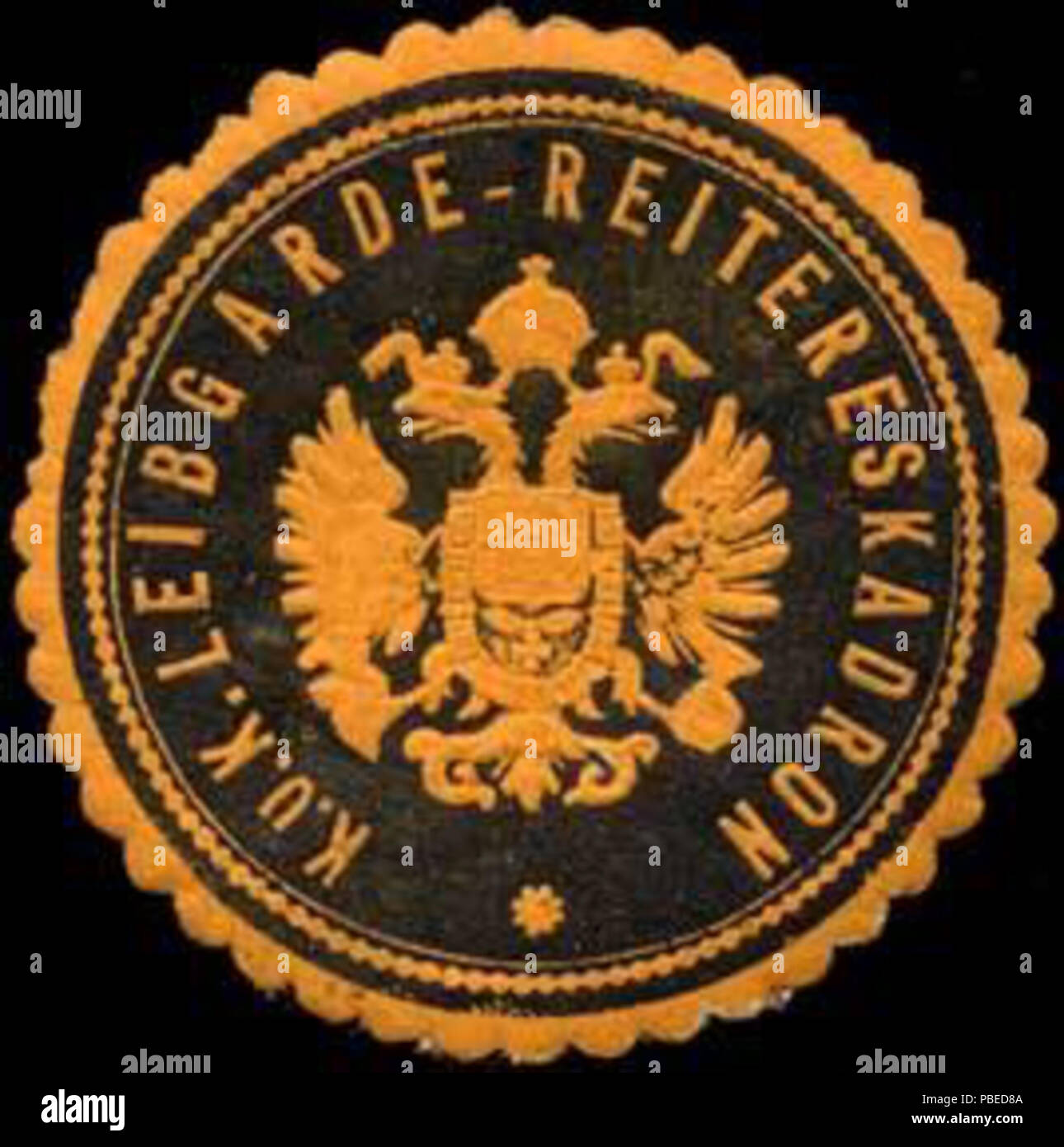 1435 Siegelmarke K.u.K. Leibgarde-Reitereskadron W0317223