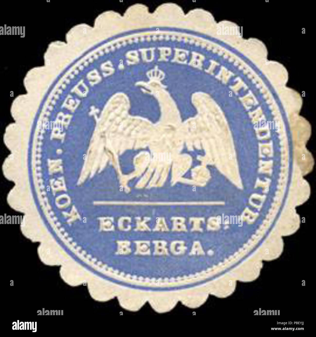 1442 Siegelmarke Koeniglich Preussische Superintendentur Eckartsberga  W0219889