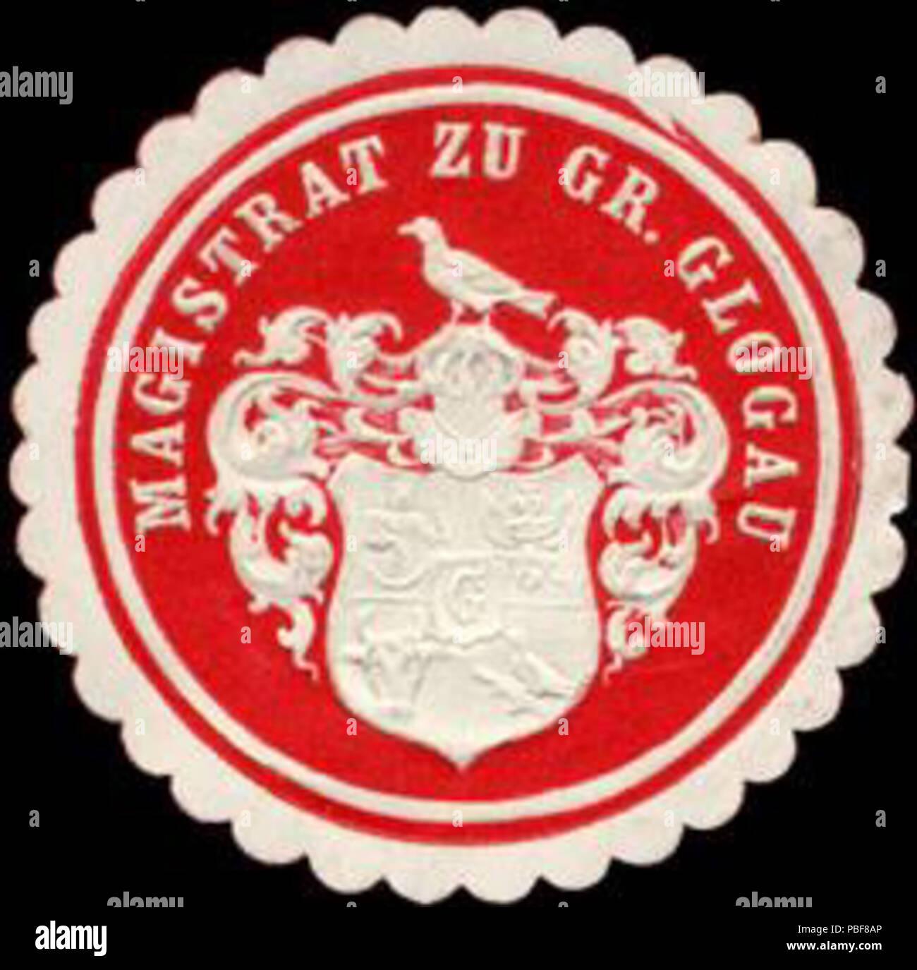 1488 Siegelmarke Magistrat zu Gross Glogau W0226505