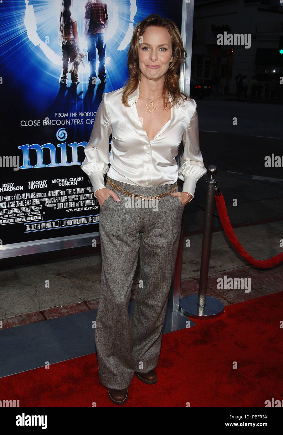 Melora Hardin (The Office ) arriving at the Mimzy Premiere