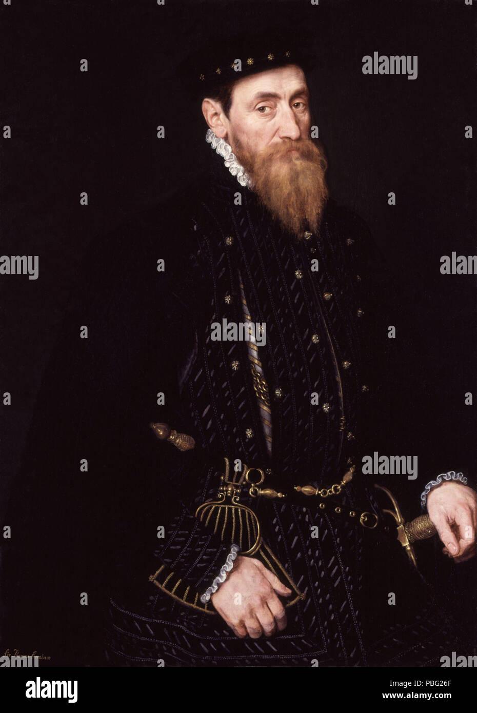 1540 Sir Thomas Gresham from NPG - Stock Image