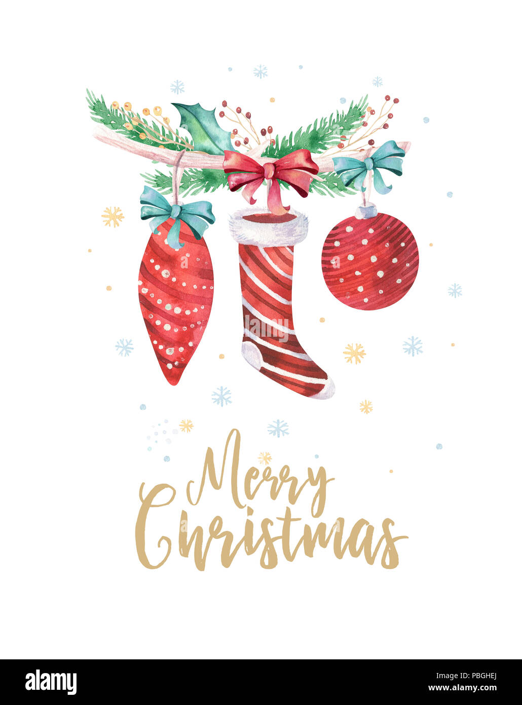 Christmas Graphics 2019.Merry Christmas And Happy New Year 2019 Decoration Winter