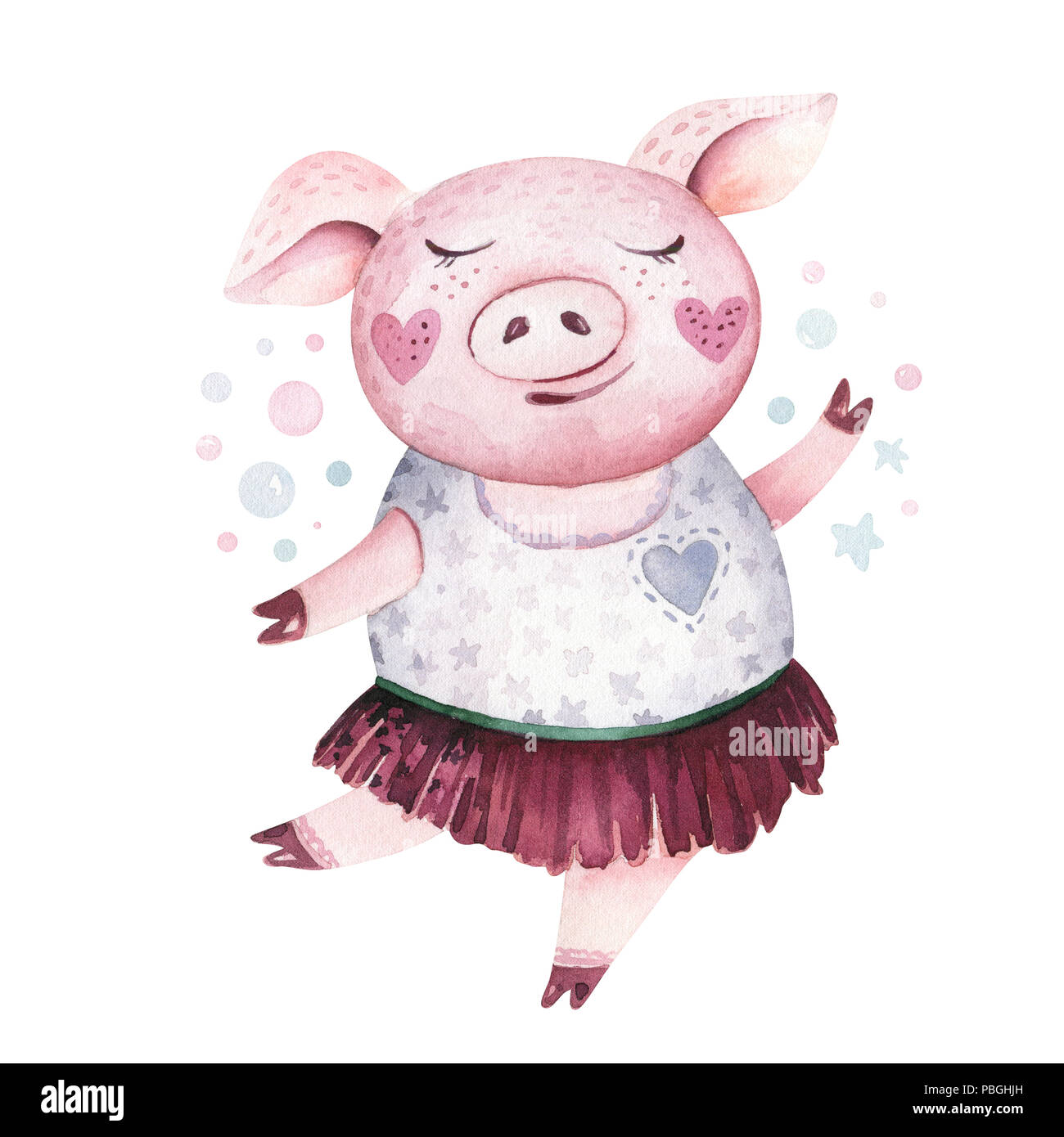 Chinese New Year 2019 Pig Cut Out Stock Images & Pictures