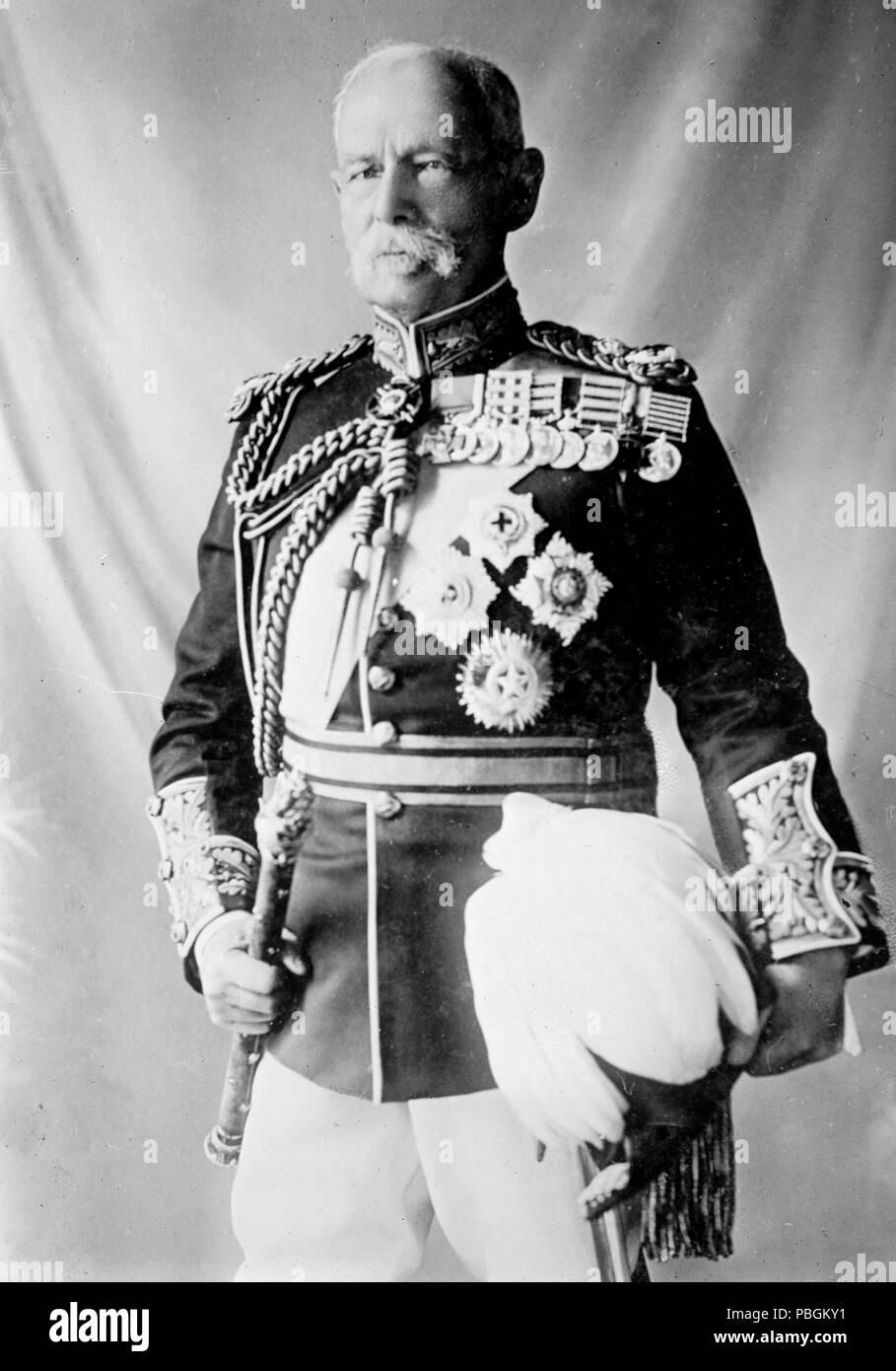 Gen. Lord Roberts, in uniform - Stock Image