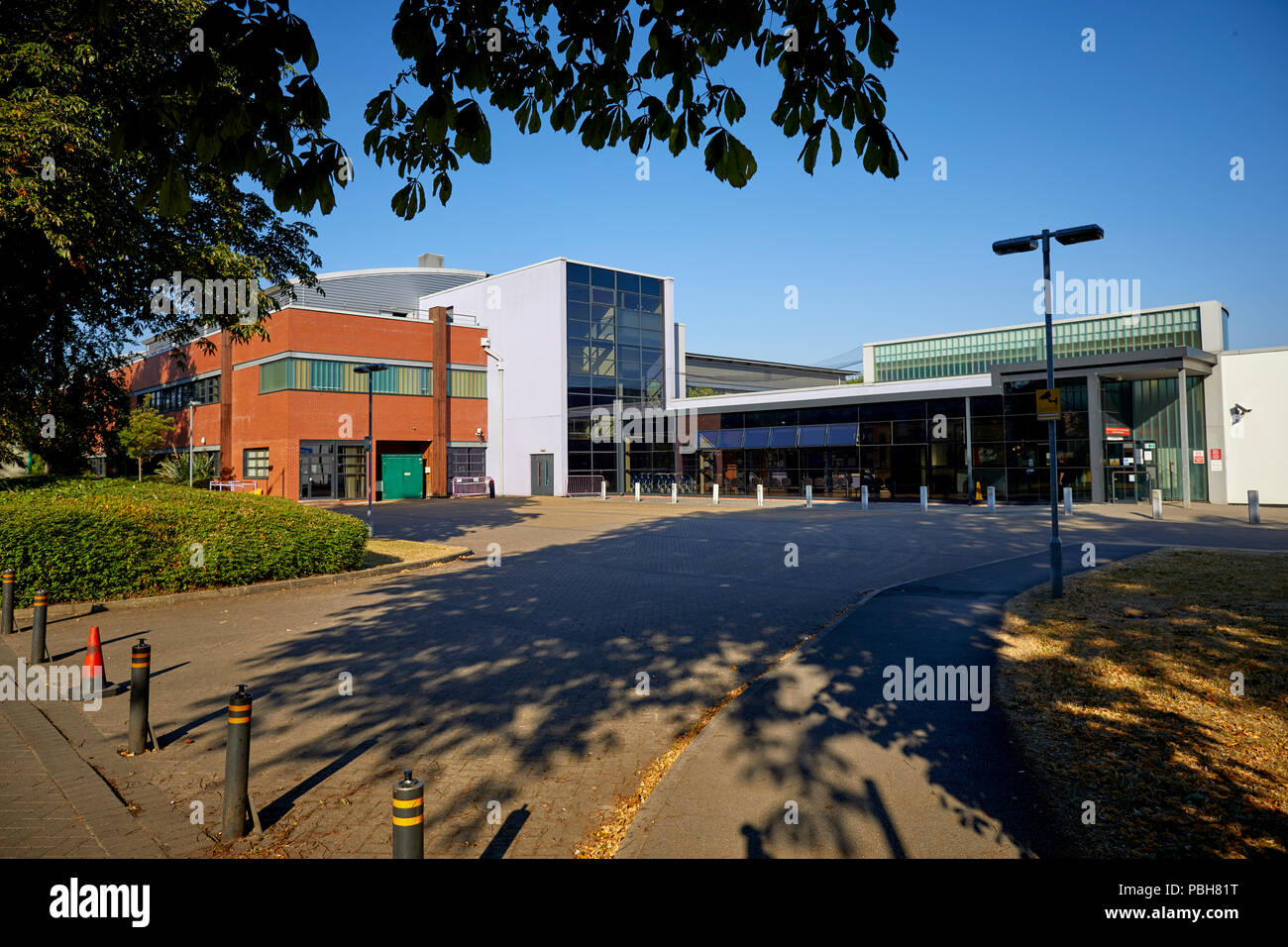 Burton Road west Didsbury, south Manchester new build Withington Community Hospital and Diagnostic and Treatment Centre - Stock Image