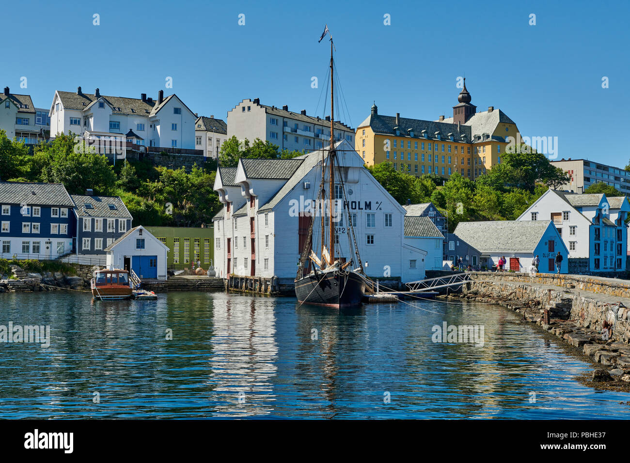 the Fishery museum in Ålesund, Norway, Europe - Stock Image