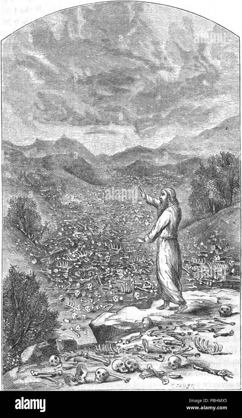 1710 The valley of dry bones - Stock Image