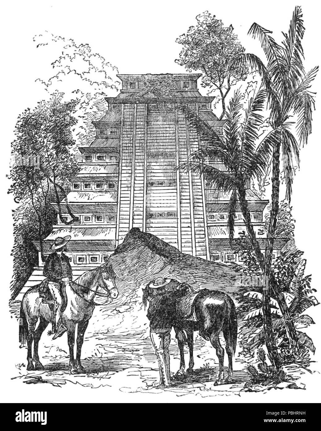 1752 TLM D200 Ruins of Papantla - Stock Image
