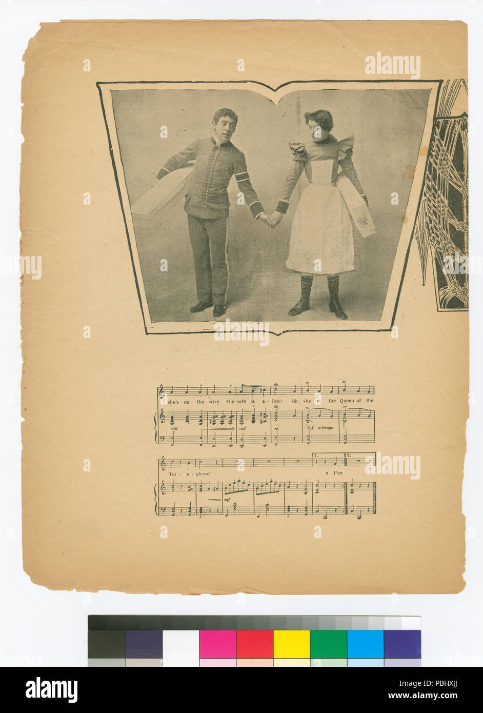 1773 Tricky little Sarah (NYPL Hades-667908-1800020) - Stock Image