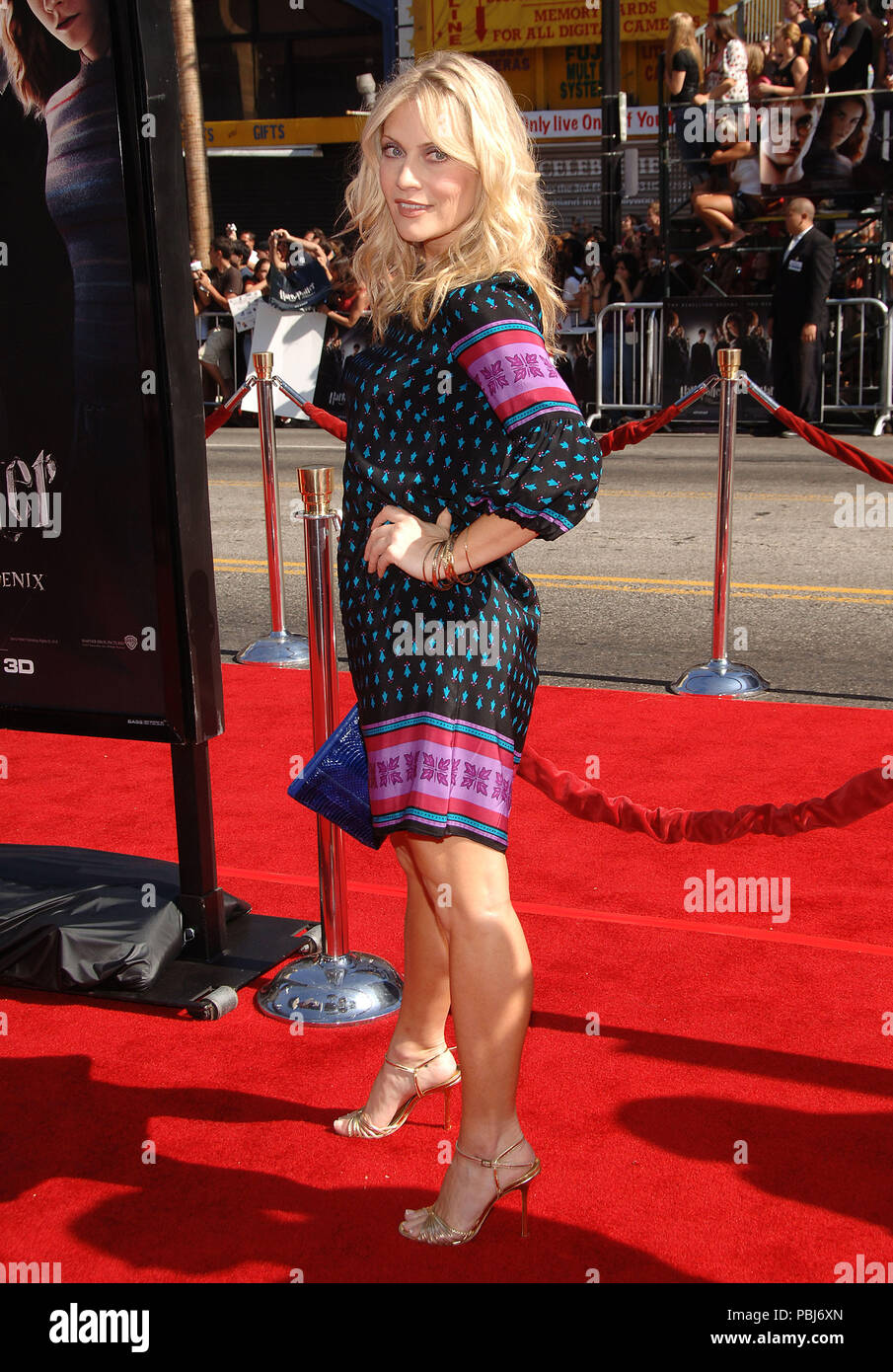Usa News Live >> Emily Procter ( CSI Miami ) arriving at the HARRY POTTER ...