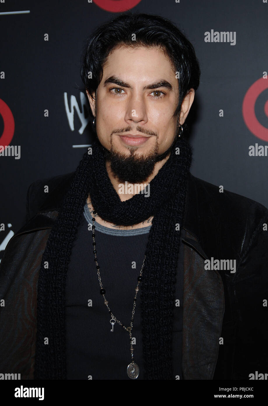 Dave Navaro Arriving At The TARGET Host Fashion Week Bash Area In Los Angeles
