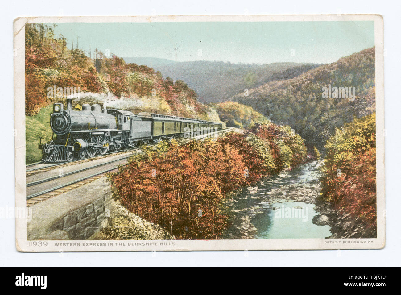 1844 Western Express in the Berkshire Hills, Massachusetts (NYPL b12647398- 69721)