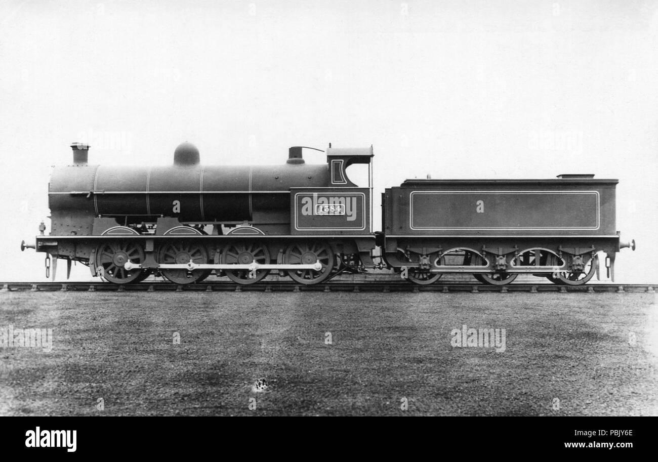 930 LNWR locomotive No. 1384 G1 Stock Photo