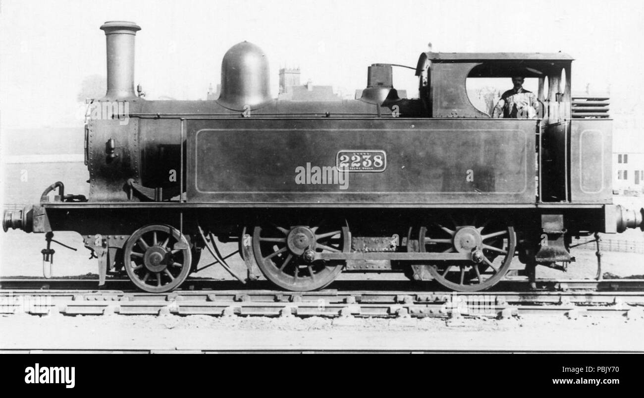 930 LNWR engine No.2238, 2-4-0 Tank