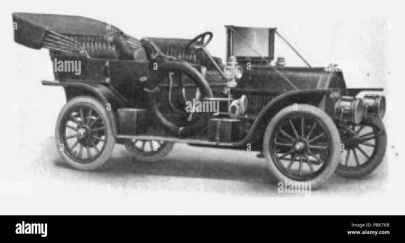 832 Jewel 40 touring car (1909) - Stock Image