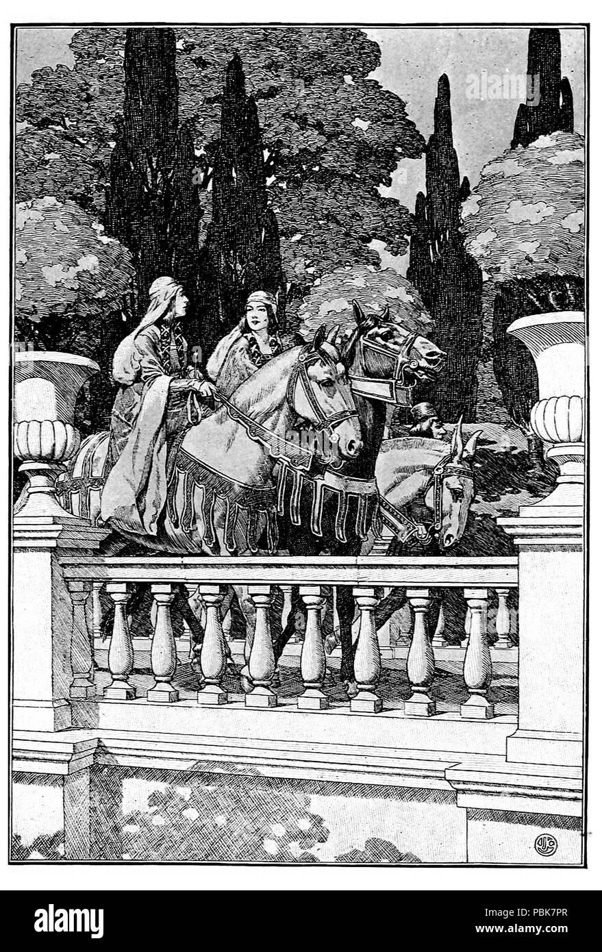 1148 P 148--The Princess Porquoi Stock Photo