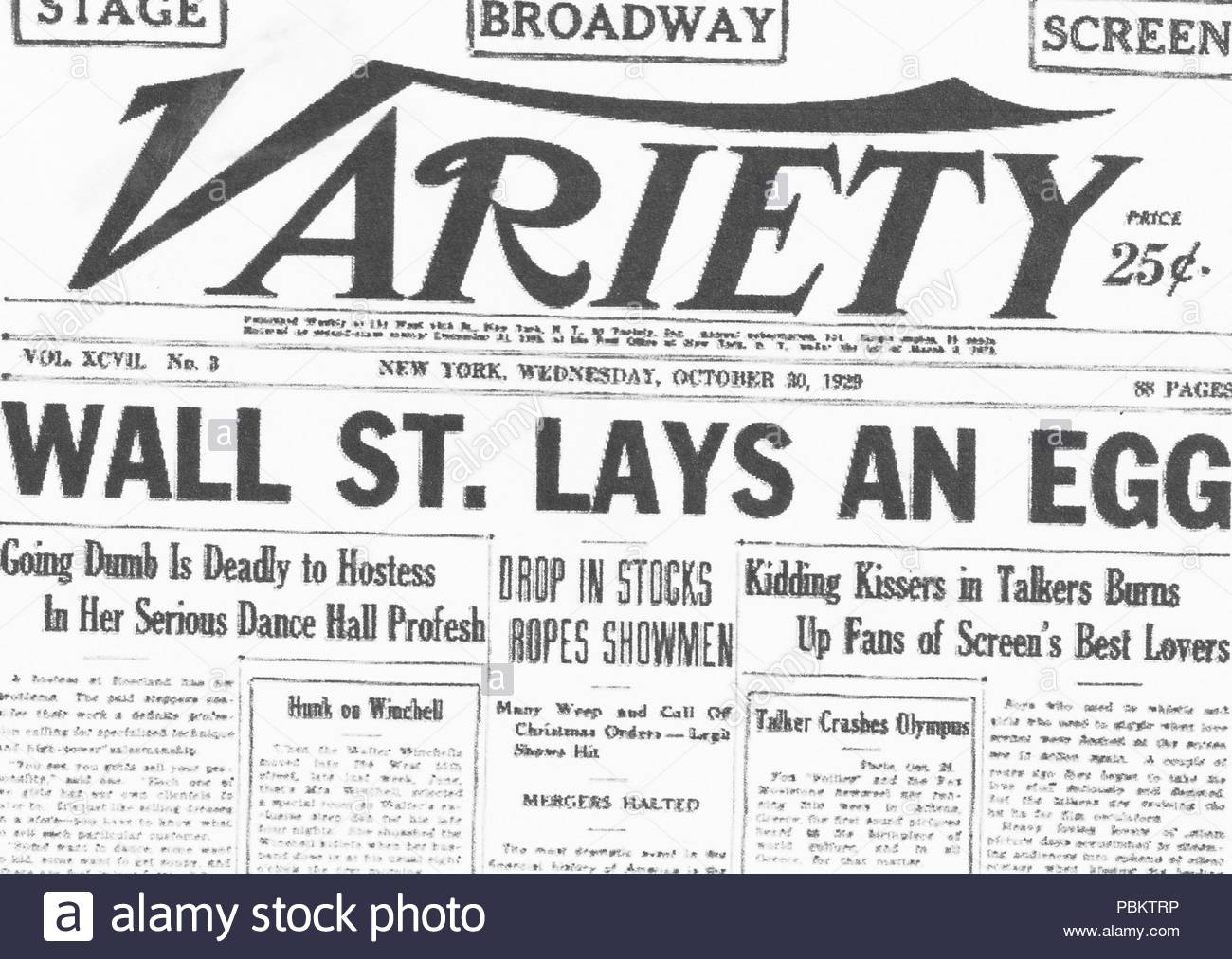 Stock Market Crash Of 1929 Stock Photos & Stock Market ...