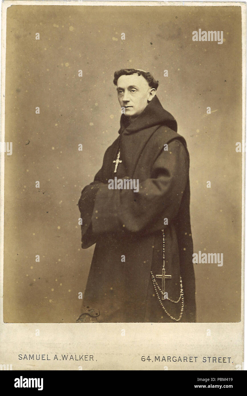 English Carte De Visite Of Ignatius Llanthony Before 1908 787