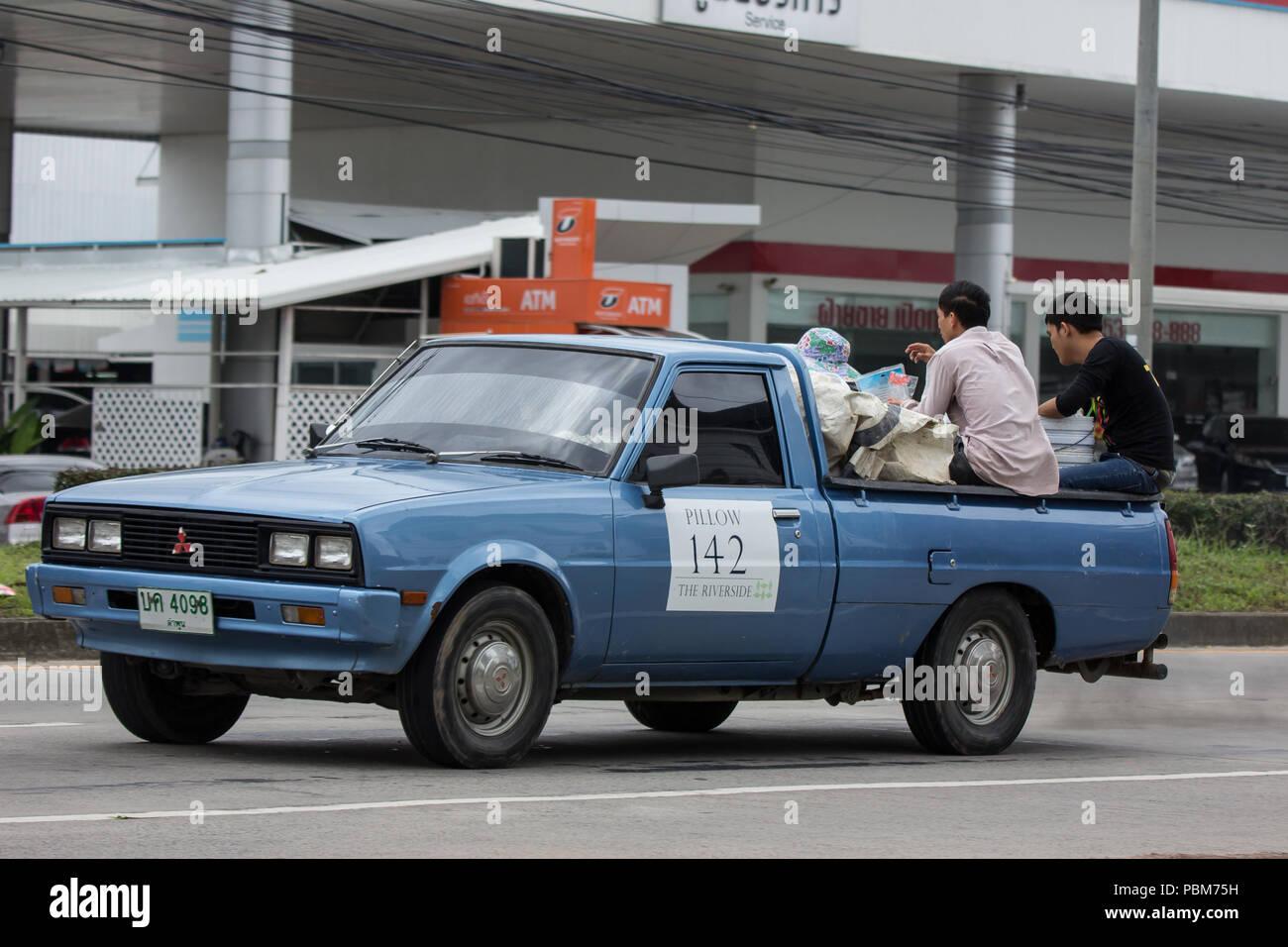 Mitsubishi Pick Up Truck On Stock Photos & Mitsubishi Pick