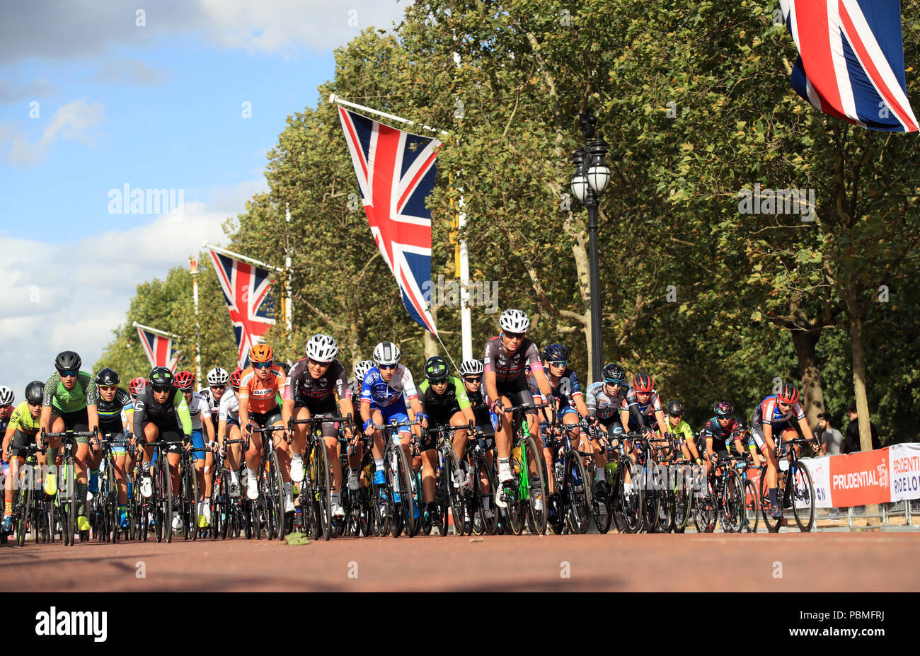 The Prudential RideLondon Classique during day one of the