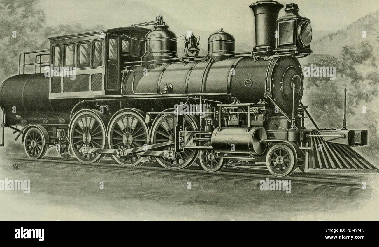 931 Locomotive engineering - a practical journal of railway motive power and rolling stock (1898) (14761259085) Stock Photo