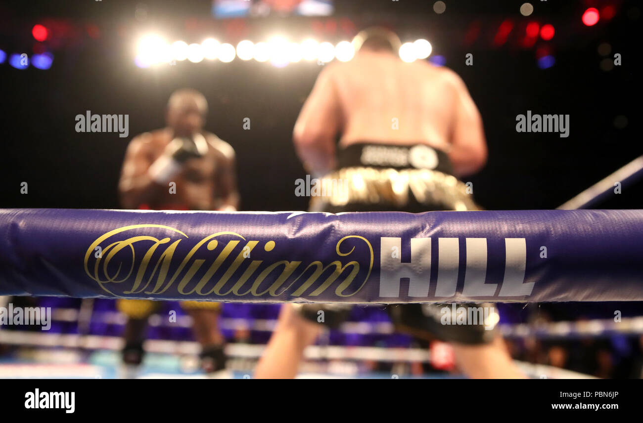 Read A Story Stock Photos Images Page 14 Alamy Rider Sport Boxer R 383 General View Of William Hill Branding On The Ring Ropes At O2 Arena