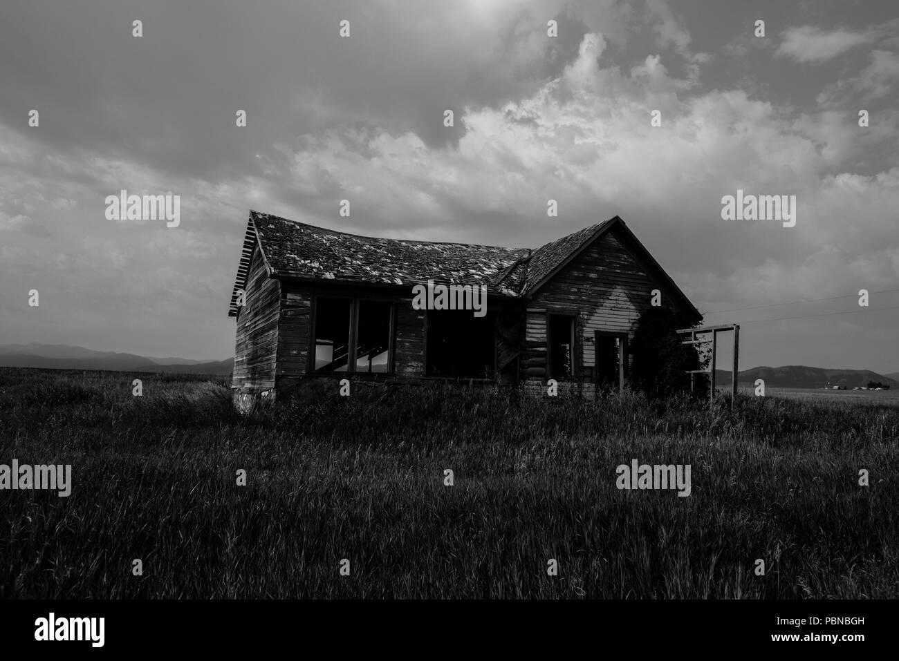 Rural Idaho - Stock Image
