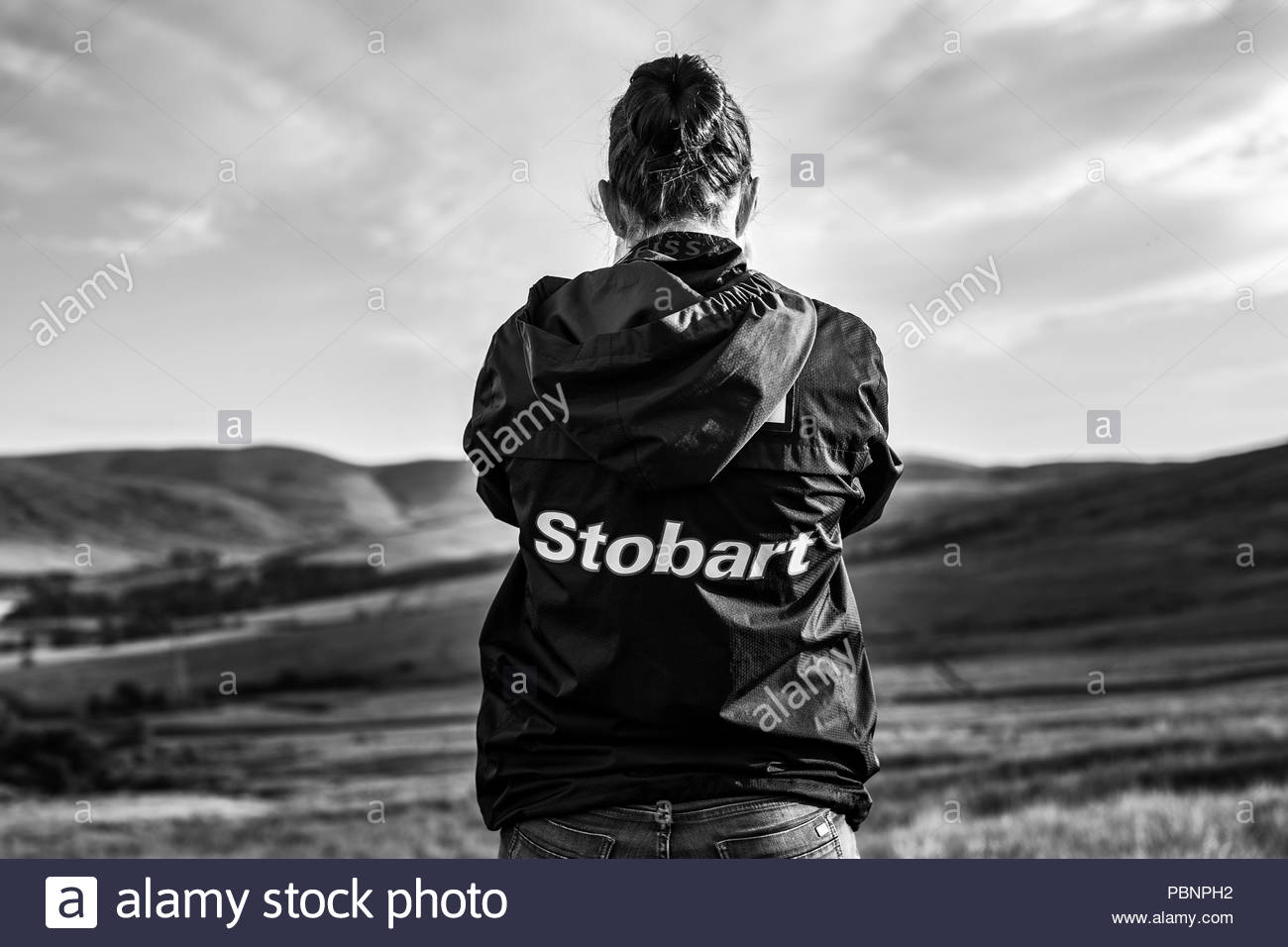 Langholm, Dumfries and Galloway, Scotland, UK. 28th July 2018. Langholm Common Riding climaxes each year on the last Friday of July after a series rid Stock Photo
