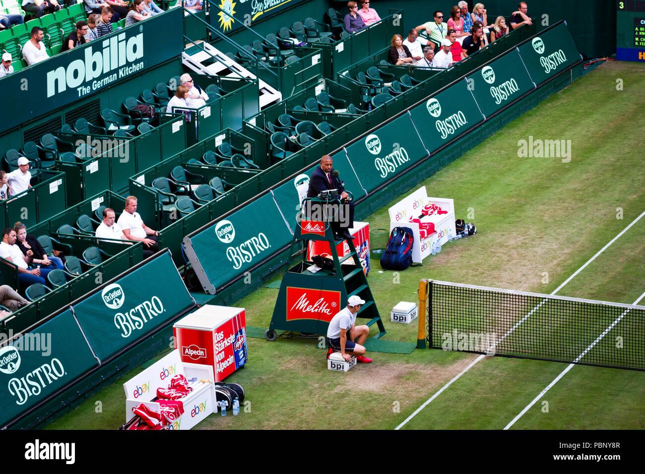 more photos b8a11 945e4 Tennis umpire Carlos Bernardes at the 2013 Gerry Weber Open ...