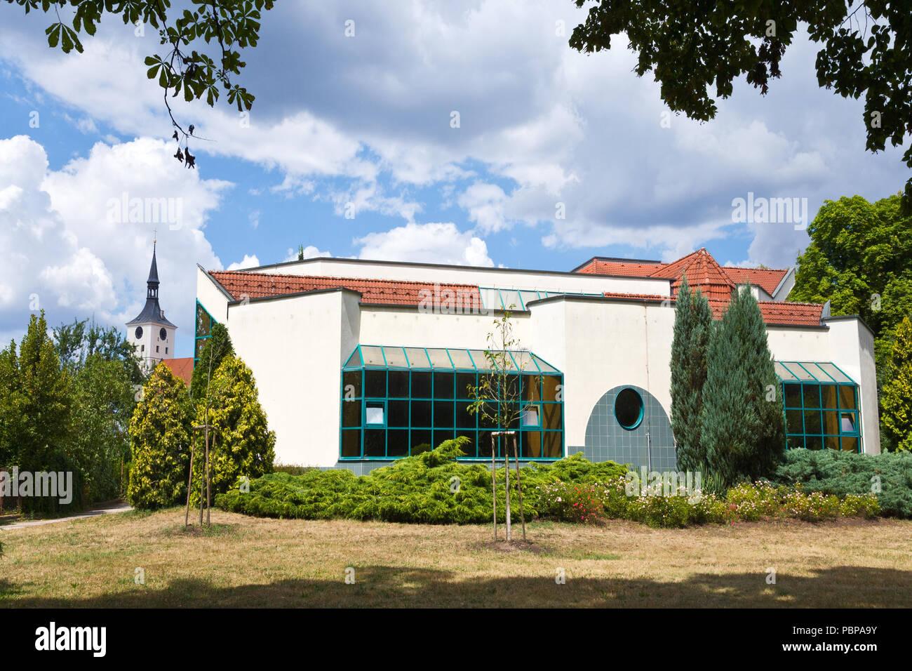 Lazne Bohdanec, Pardubicky kraj, Česká republika /  Lazne Bohdanec,  spa resort, Pardubice region, Czech republic - Stock Image