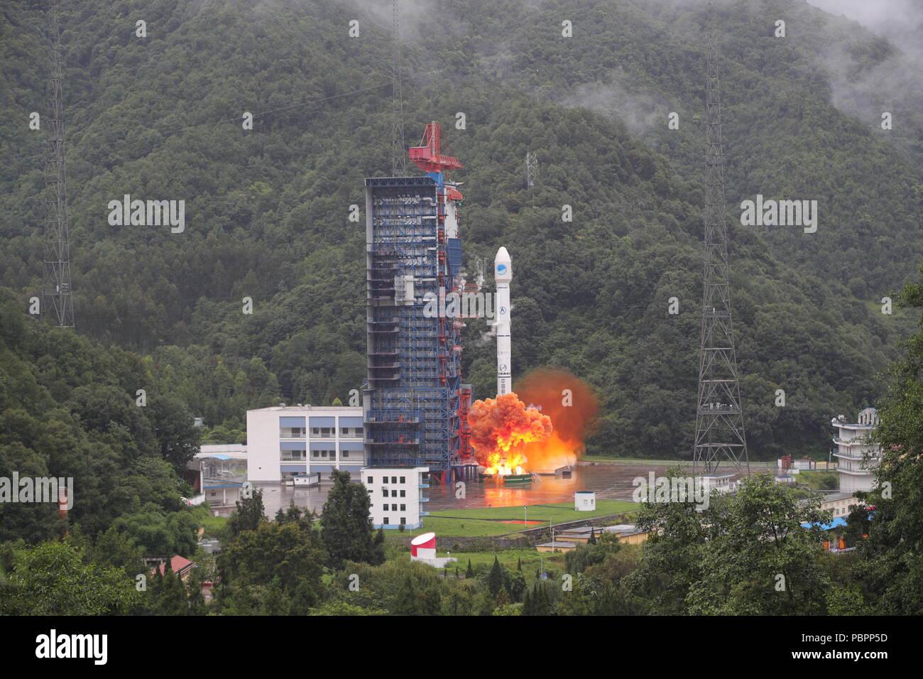 Xichang, China's Sichuan Province. 29th July, 2018. China ...