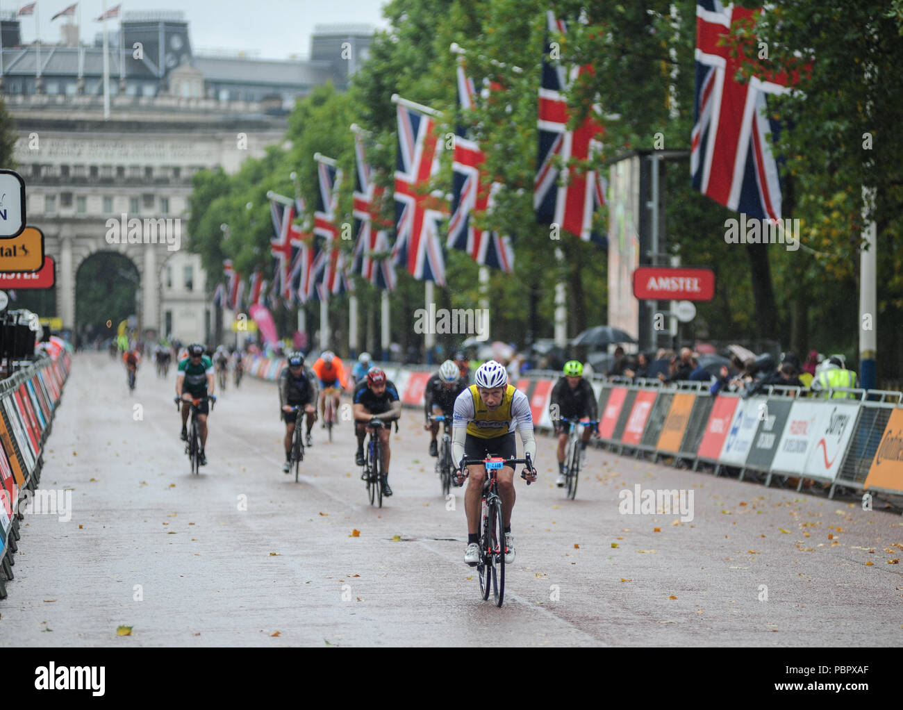 The Prudential Ridelondon Surrey 100 Stock Photos   The Prudential ... 9c178b031