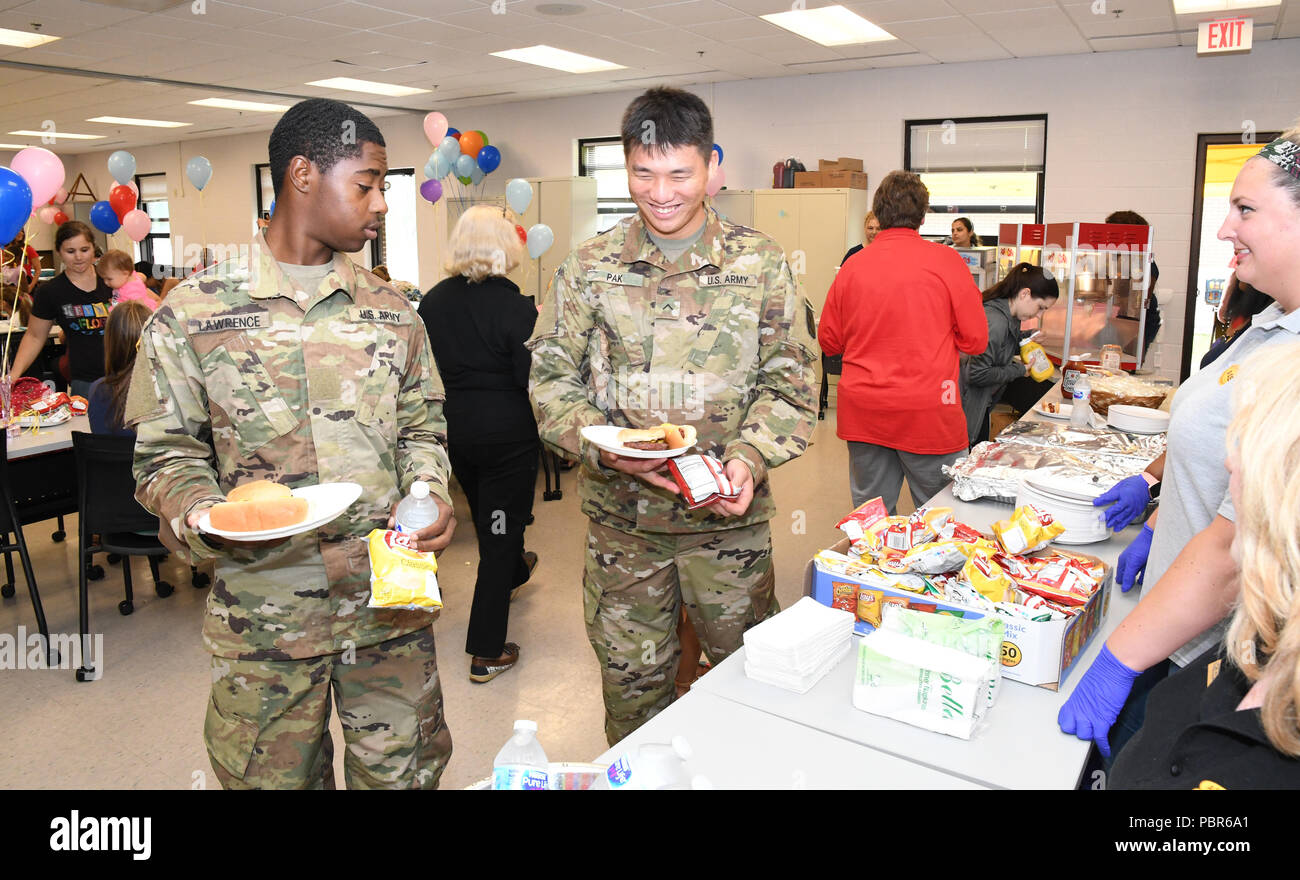 Fort Drum Soldiers and Family Members enjoy games, food and
